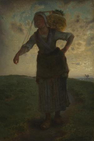 A Norman Milkmaid at Greville, 1871