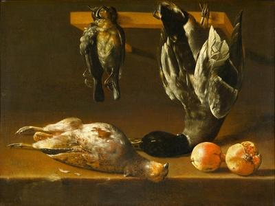 Still Life with Fowl and Pomegranates, c.1620-1640
