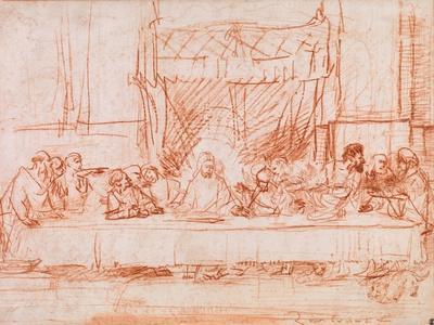 The Last Supper, after Leonardo da Vinci, 1634-35