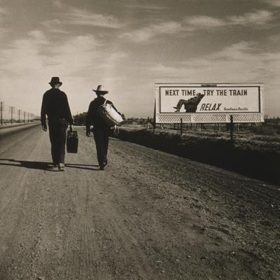 Toward Los Angeles, California, 1937
