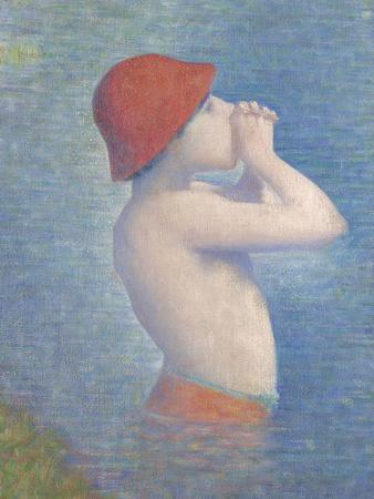Detail of the Bathers at Asnières, 1884