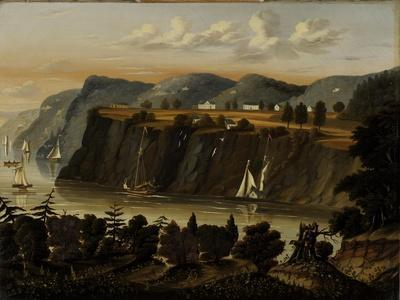 View of West Point, 1840-1860