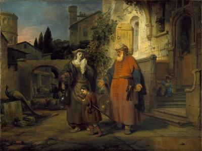 The Expulsion of Hgar and Ishmael, 1666