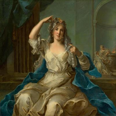 Portrait of a Lady as a Vestal Virgin, 1759