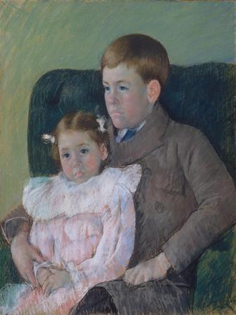 Gardner and Ellen Mary Cassatt, 1899