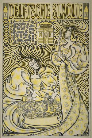 Poster for Delft Salad Oil, 1894