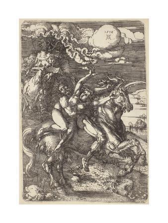 Abduction on a Unicorn, 1516