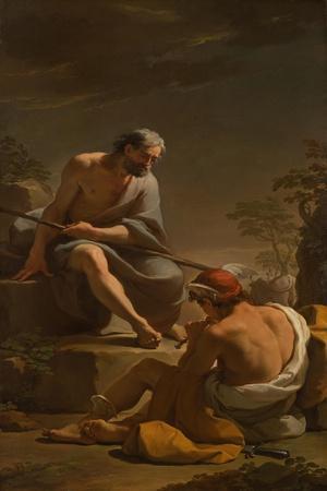 Mercury Lulling Argus to Sleep, c.1770-1775