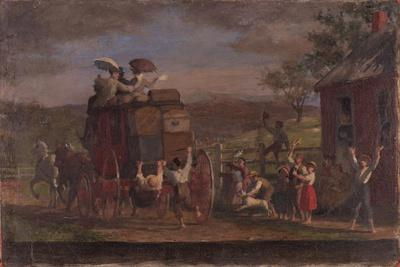 Study for the Pemigewasett Coach, c.1880-89
