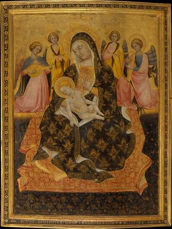 Madonna and Child with Angels, 1420