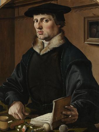 Portrait of a man, possibly Pieter Gerritsz Bicker, 1529