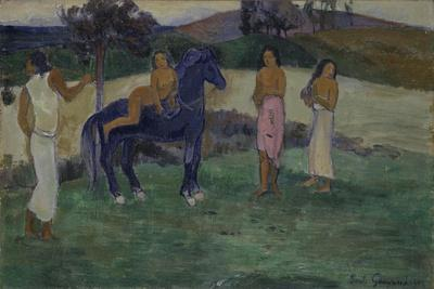 Composition with Figures and a Horse, 1902