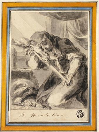 Beata Humbelina with Crucifix, c.1700