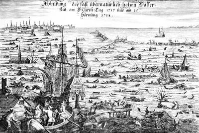 The Christmas Flood of 1717, 1719