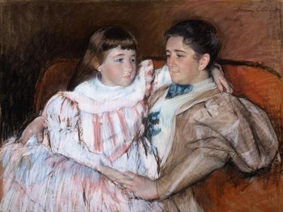 Louisine Havemeyer and Her Daughter Electra, 1895