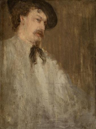 Portrait of Dr. William McNeill Whistler, 1871-73