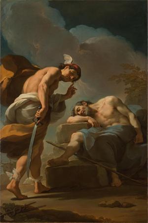 Mercury About to Behead Argus, c.1770-1775