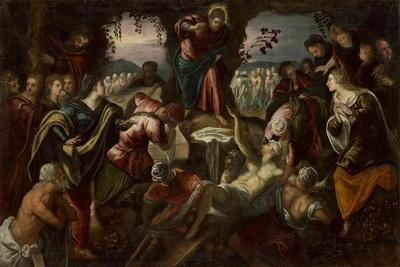 The Raising of Lazarus, 1585-1590