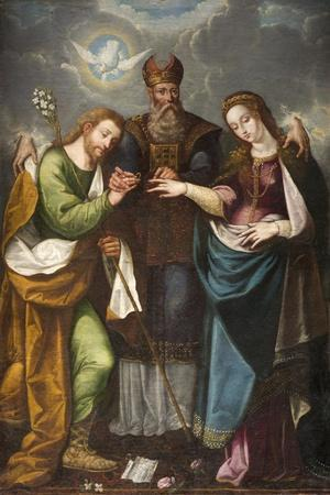 The Marriage of the Virgin, 1668