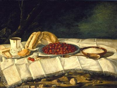 Still Life with Strawberries and Chocolate, c.1775-1790