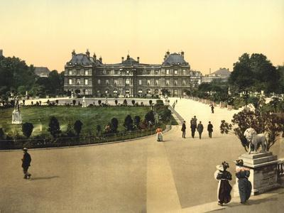 The Luxembourg Palace, Paris, France, c.1890-1900