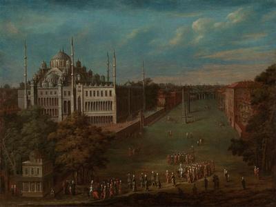 The Grand Vizier Crossing the Atmeydan? , 1720-37