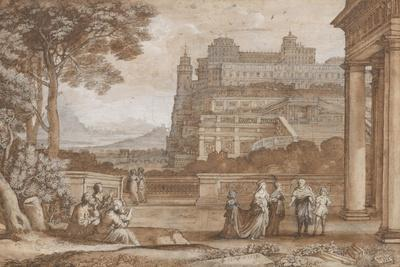 Queen Esther Approaching the Palace of Ahasuerus, 1658