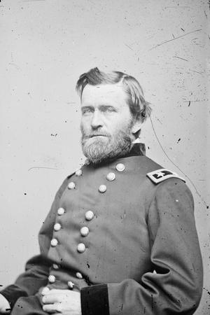 Maj. Gen. Ulysses S. Grant, officer of the Federal Army, 1862-4