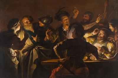 The Denial of St. Peter, c.1620-1625