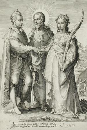 The Christian Marriage, Plate 3 of The Marriage Trilogy, c.1594