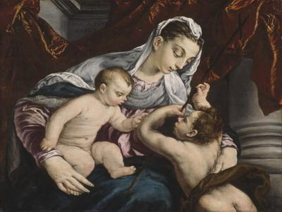 Virgin and Child with the Young Saint John the Baptist, 1560/65