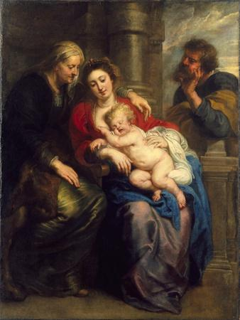 The Holy Family with St. Anne, c.1630-1635