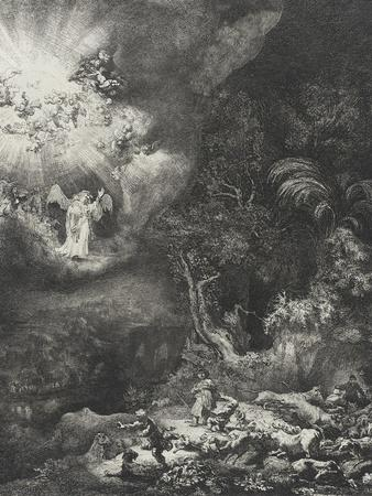 The Angel Appearing to the Shepherds, 1634