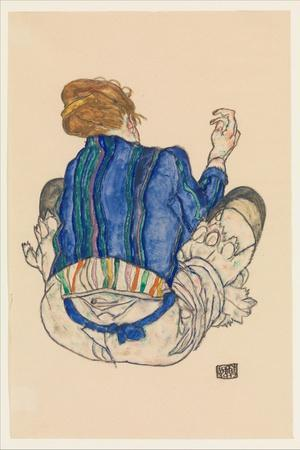 Seated Woman, Back View, 1917