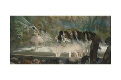 Ballet at the Paris Opéra, 1877