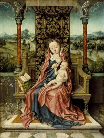 Madonna and Child Enthroned, c.1510