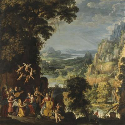 Landscape with the flight into Egypt, c.1610-40