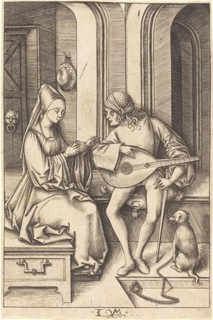 The Lute Player and the Singer, c.1500