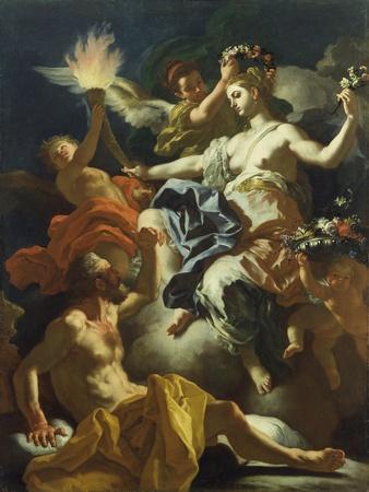 Aurora Taking Leave of Tithonus, 1704