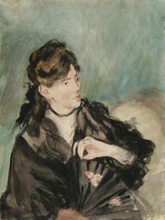 Portrait of Berthe Morisot, 1873-74
