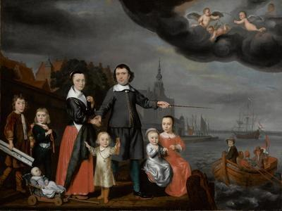 Captain Job Jansse Cuijter and His Family, 1659