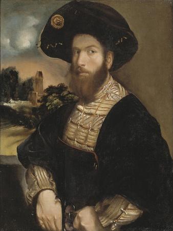 Portrait of a Man Wearing a Black Beret, c.1530