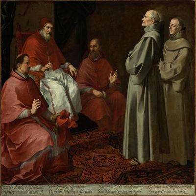 The Blessed Giles Before Pope Gregory IX, c.1645-1646