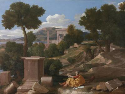 Landscape with Saint John on Patmos, 1640