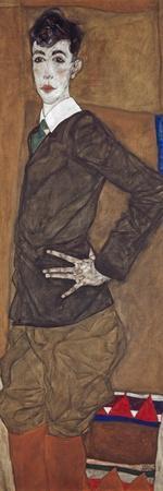 Portrait of Erich Lederer, 1912-13