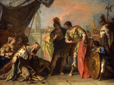Alexander and the Family of Darius, c.1708-1710