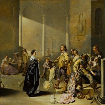 Guardroom Scene with Spoils of War, c.1635-1640