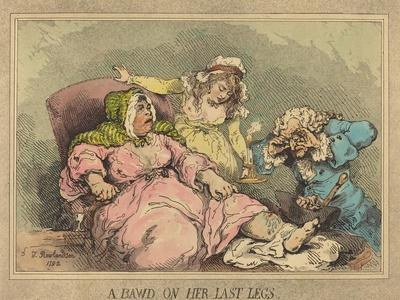 A Bawd on Her Last Legs, 1792
