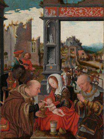 The Adoration of the Magi, c.1520-5