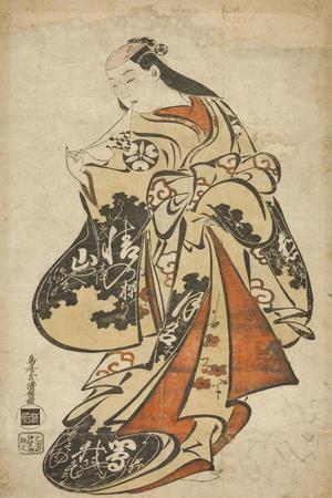 The Actor Tsutsui Kichijuro, c.1704